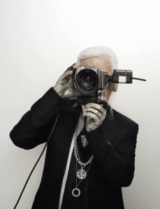 Karl Lagerfeld - Selfportrait
